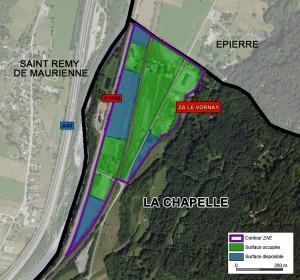 plan ZAE La Chapelle