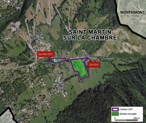 plan ZAE Saint Martin sur La Chambre