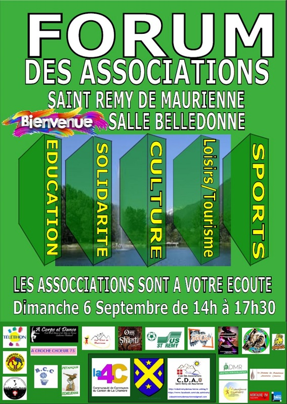 affiche forum des association 2020