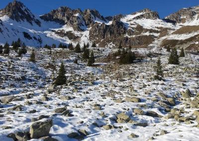 premières neiges au Col de la Madeleine